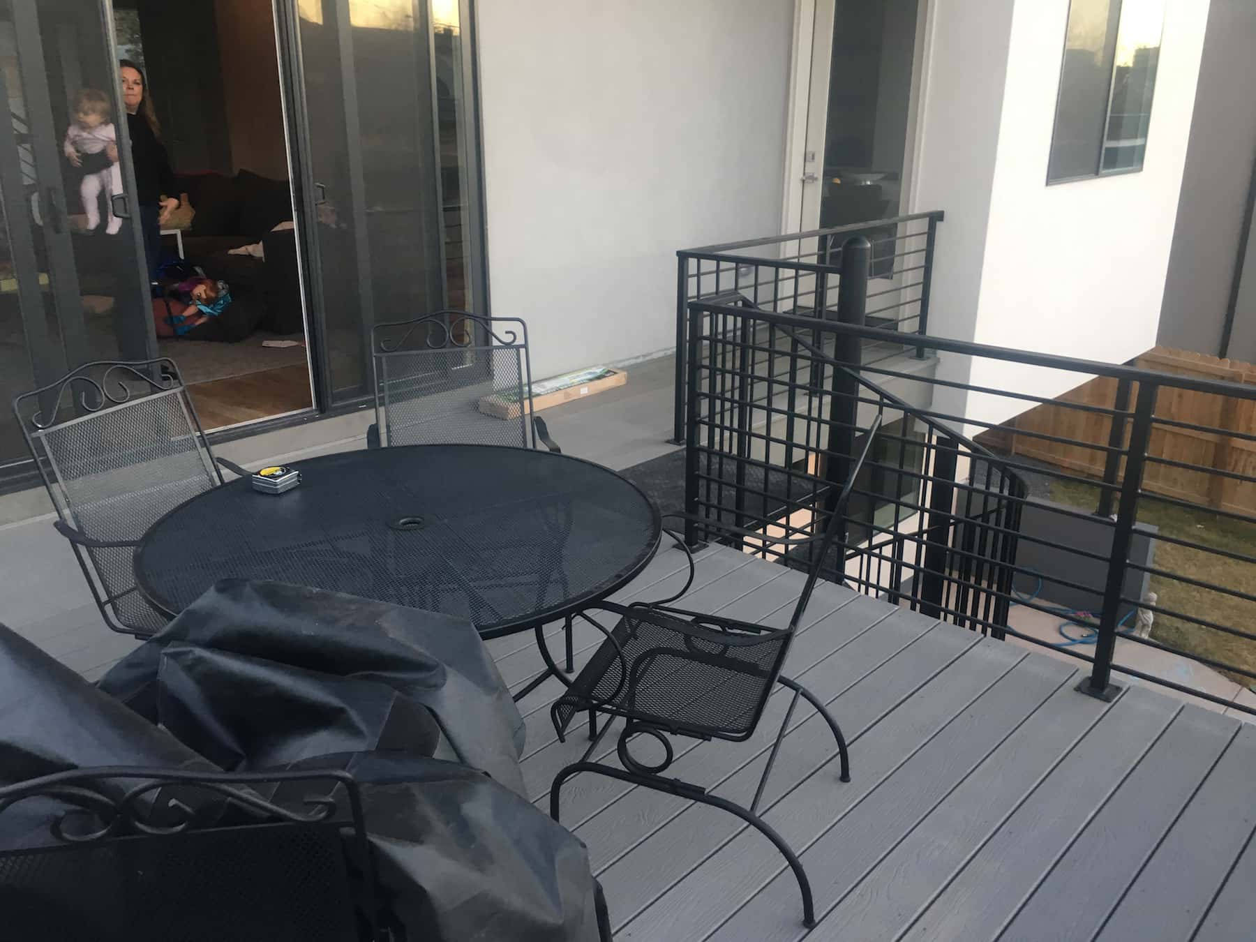 Metal Balcony & Deck