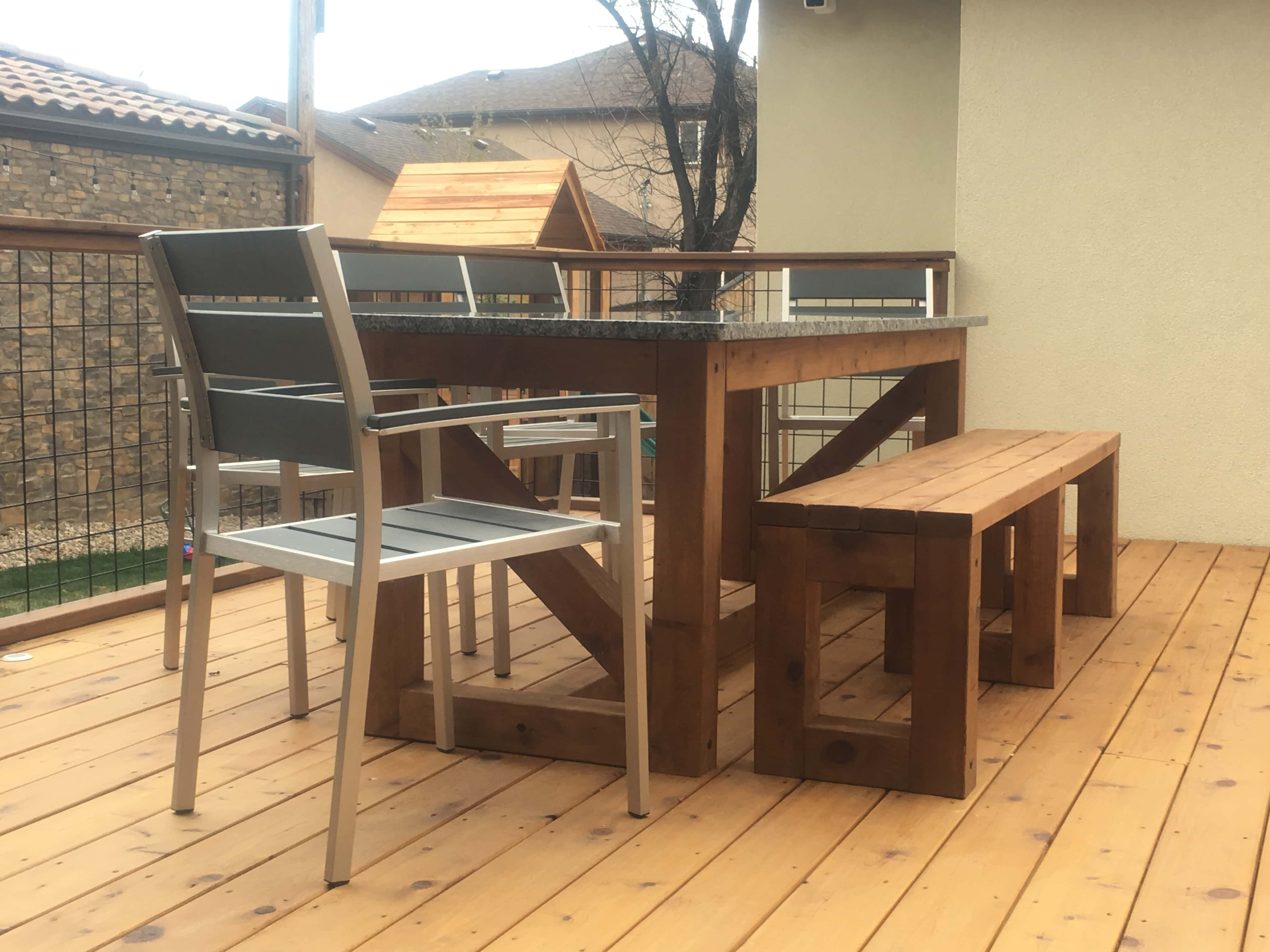 Custom Outdoor Dining Set