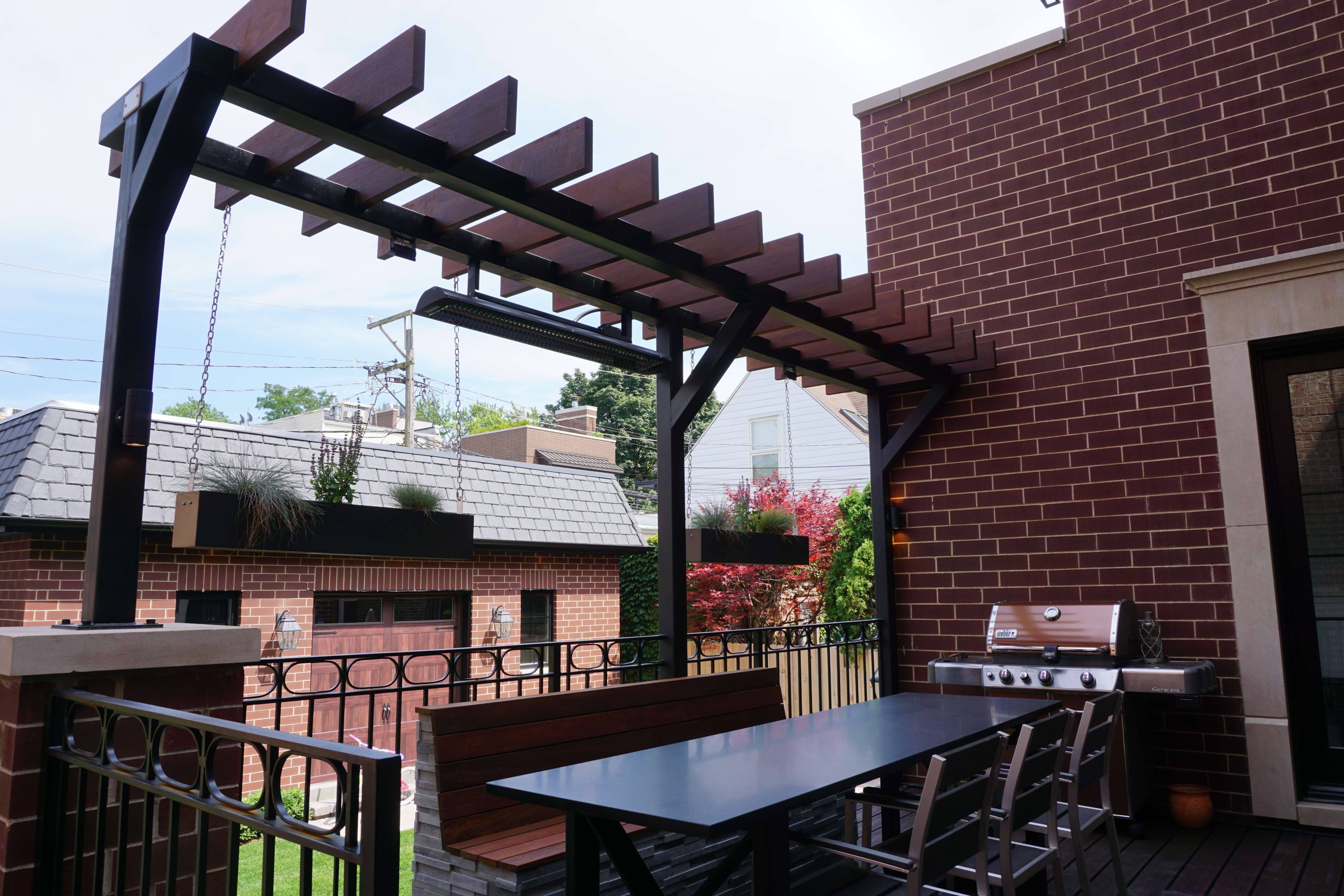 Table With Awning