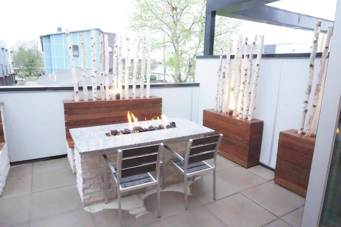 Seating & Fire Pit Table