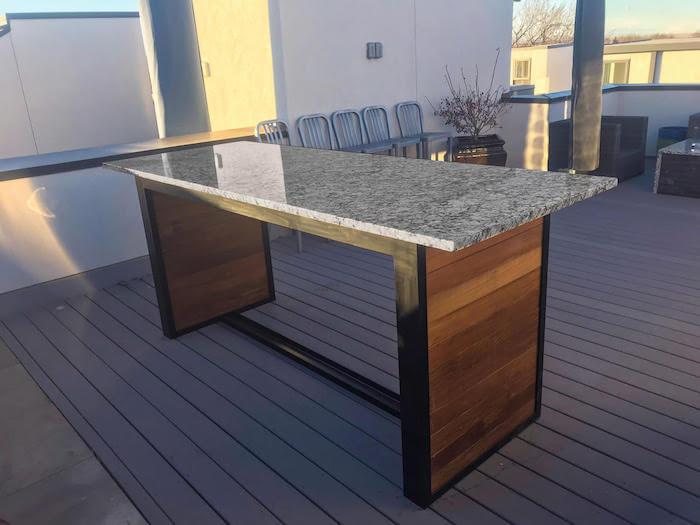 Custom Granite Table