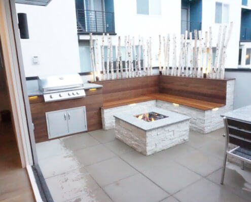 Rooftop deck archives roof decks pergolas and outdoor for Sloan outdoor kitchens