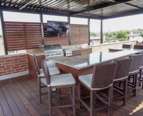 Bar and Outdoor TV