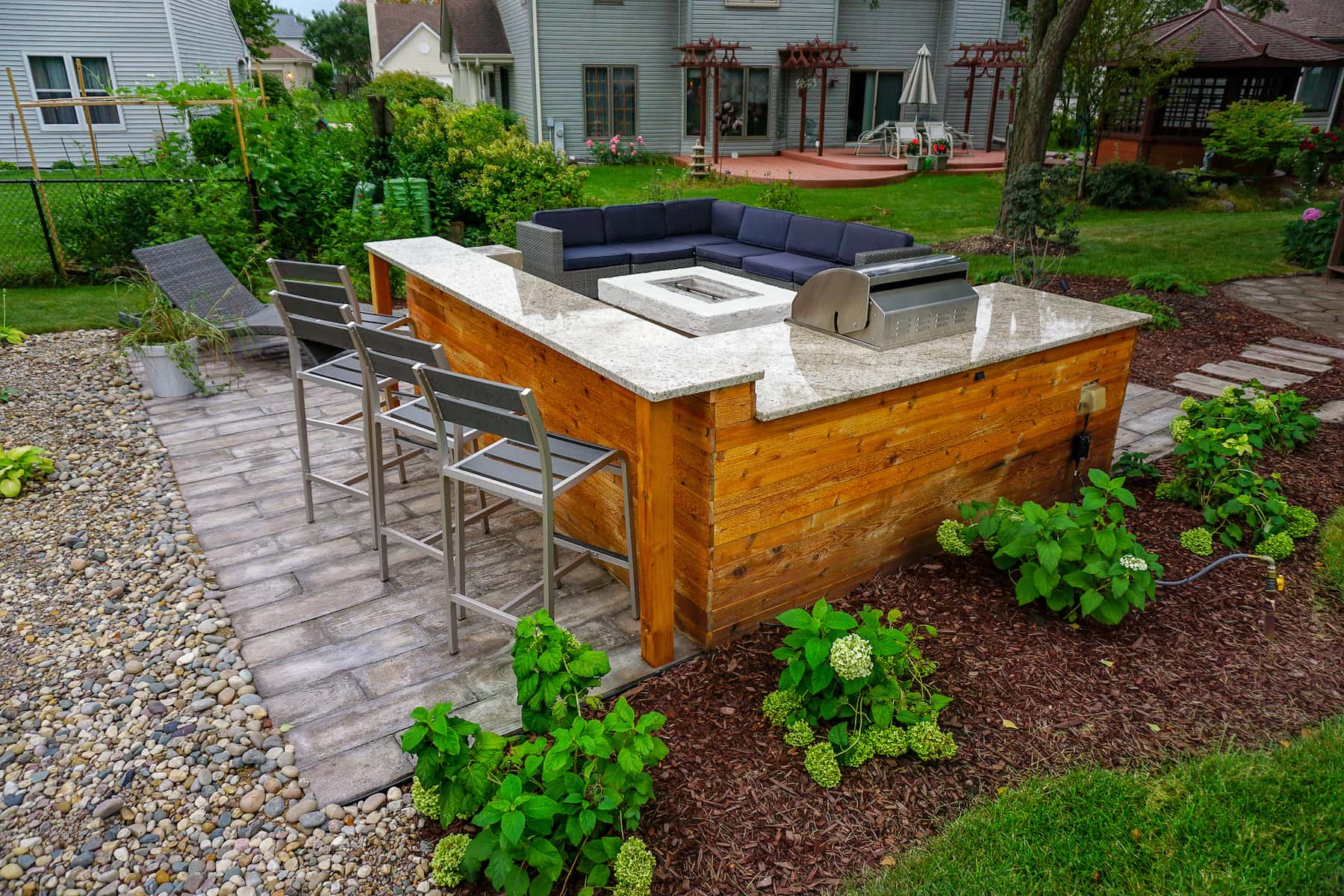 Patio and Outdoor Kitchen Denver CO