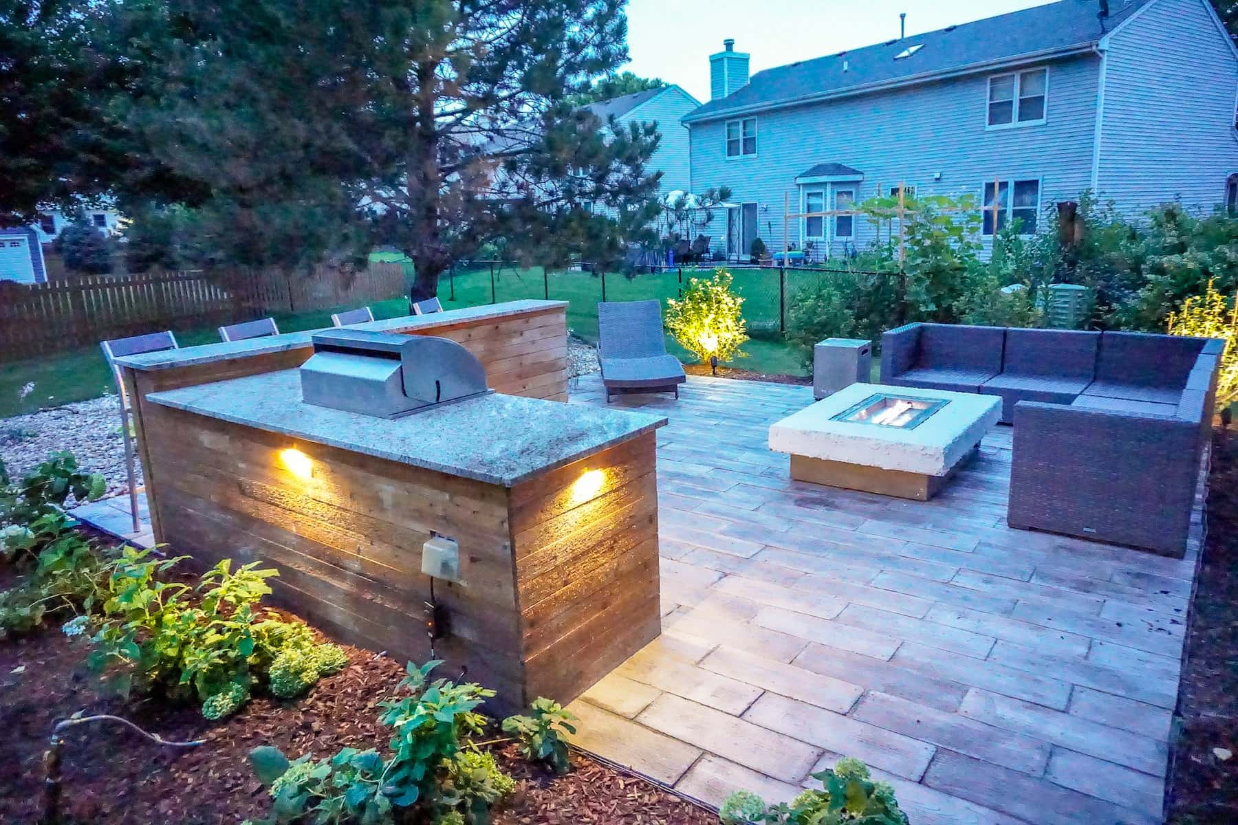 Paver Patio and Fire Pit Denver CO