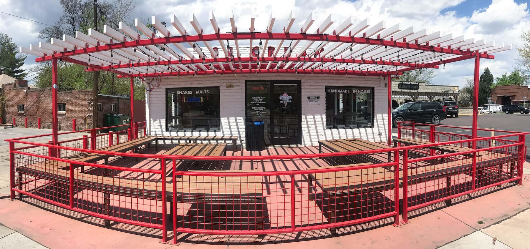Pergola Patio Railing East Denver CO