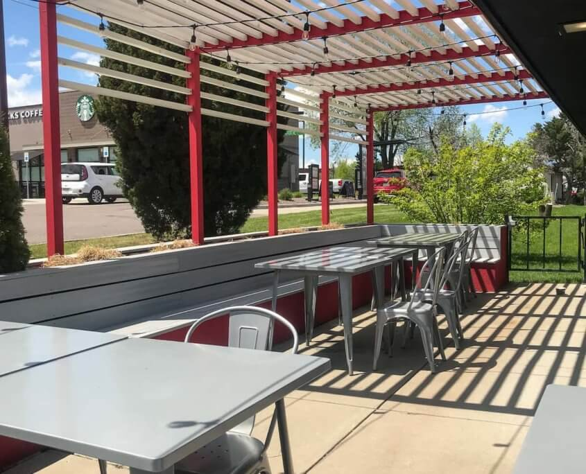 Restaurant Patio Seating Broomfield CO
