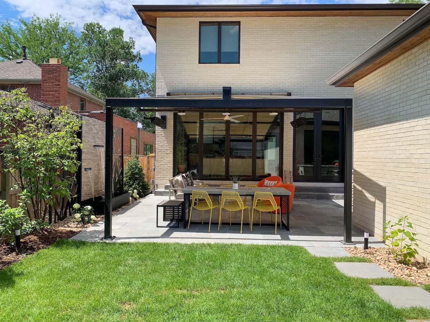 Pergola Patio Outdoor Kitchen Bonnie Brae Denver CO