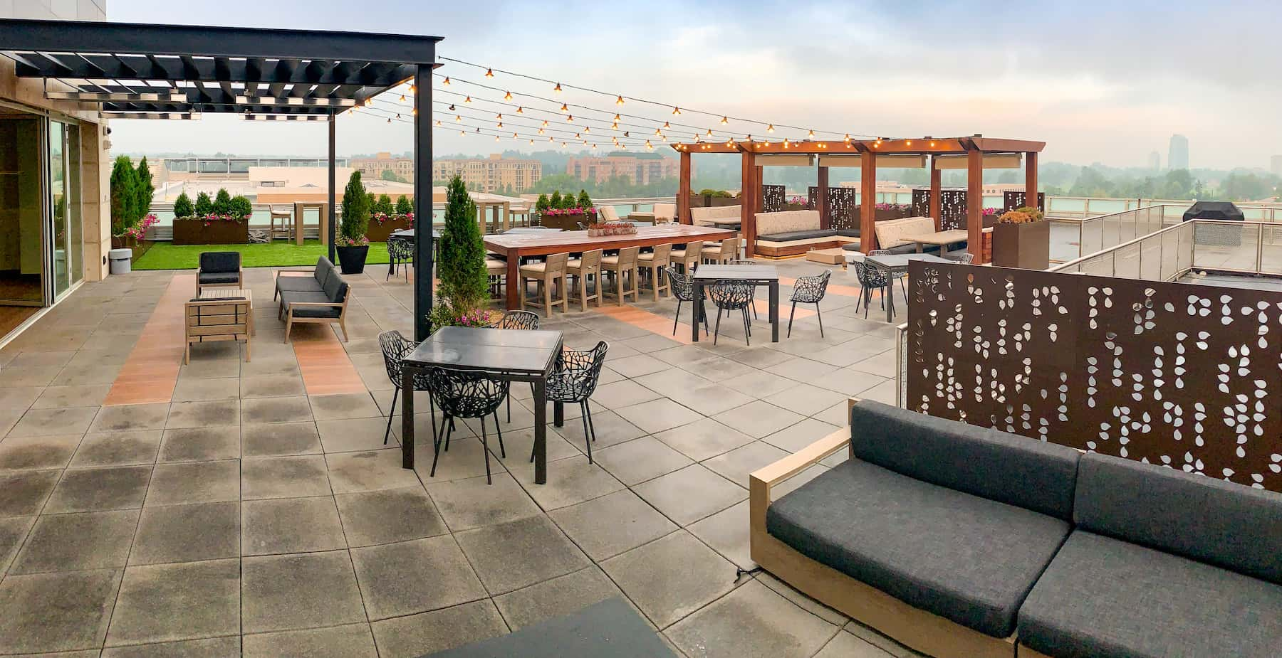 Commercial Rooftop Patio Cherry Creek Denver CO