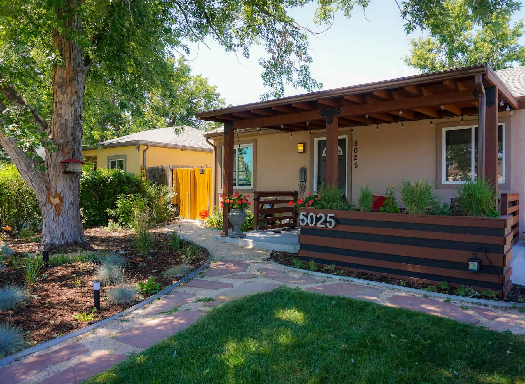 Pergola Porch Awning Landscaping Sunnyside Denver CO