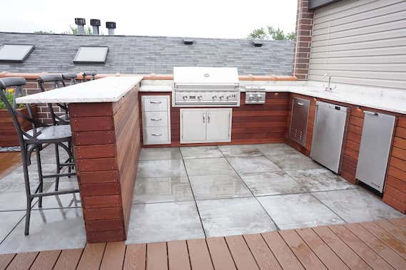 Outdoor Kitchen & Bar Denver CO