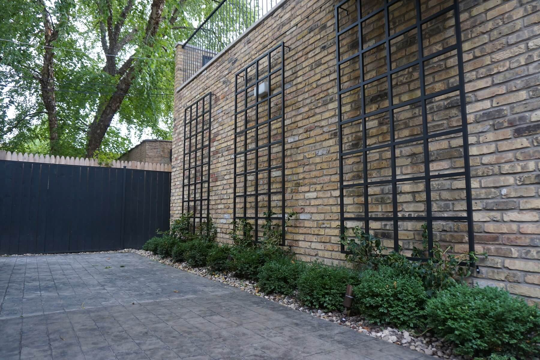 Paver Patio Rot Iron Ivy Plantings Denver CO