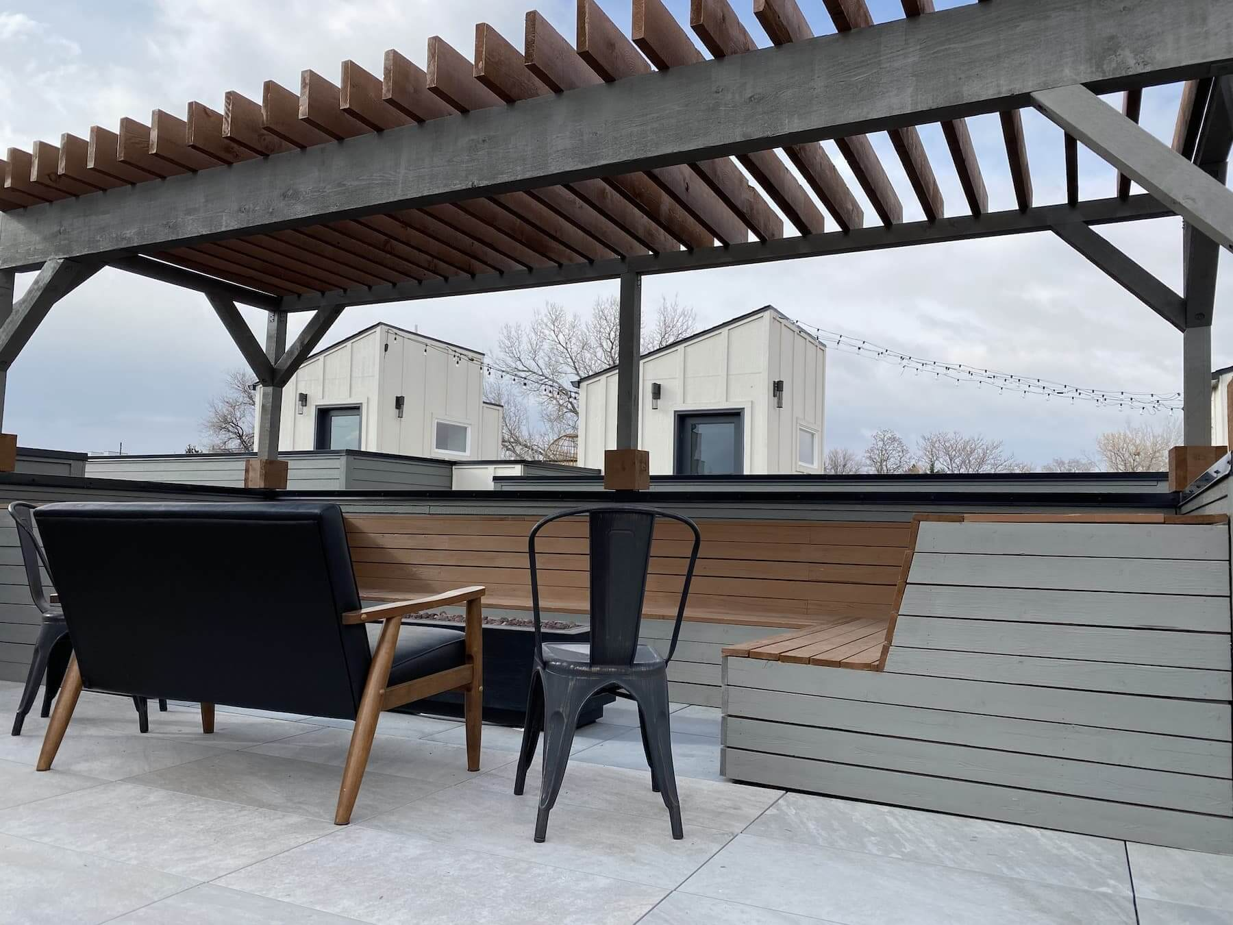 Wooden Pergola Custom Furniture Sloan's Lake Denver