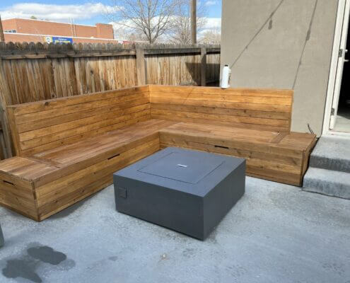 Built In Cedar Sectional City Park Denver