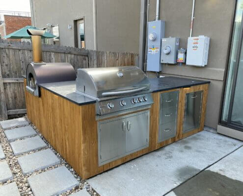 Outdoor Kitchen Pizza Oven City Park Denver
